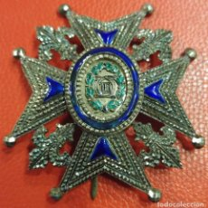 Militaria: PLACA DE LA ORDEN DE CARLOS III. EPOCA ALFONSINA. Lote 193076571