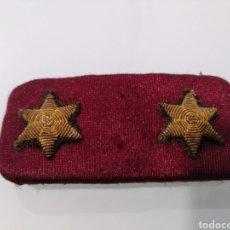 Militaria: GALLETA DE TENIENTE FONDO BURDEOS. Lote 193653886