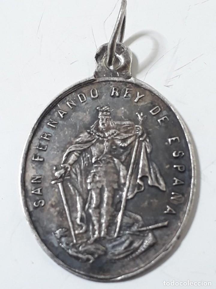 MEDALLA SAN FERNANDO REY DE ESPAÑA.DE PLATA (Militar - Medallas Españolas Originales )