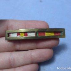Militaria: * ANTIGUO PASADOR DE MEDALLAS ESPAÑOLAS DE DIARIO, DE VISAGRA. ORIGINAL. GUERRA CIVIL. ZX. Lote 194092288
