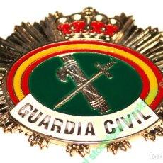 Militaria: PLACA GUARDIA CIVIL PARA CARTERA CHAPA PARA CARTERA GUARDIA CIVIL MATERIAL: ACERO INOX TAMAÑO 09812. Lote 194160622