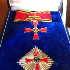 Militaria: GRAN CRUZ Y ENCOMIENDA DE LA ORDEN ALMERITO DE LA REPUBLICA FEDERAL DE ALEMANIA. PLATA. ESTUCHE DE O. Lote 194208301