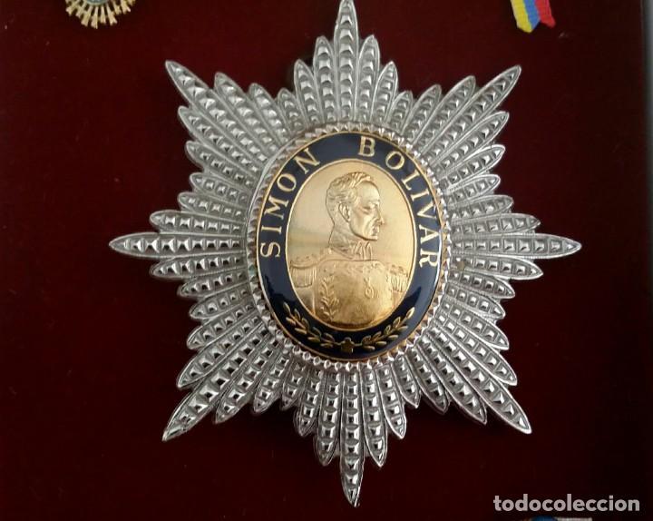 Militaria: EXTINTA CONDECORACIÓN 2 a. CLASE ORDEN LIBERTADOR SIMÓN BOLÍVAR. GRAN OFICIAL. DIFÍCIL - Foto 2 - 131624318