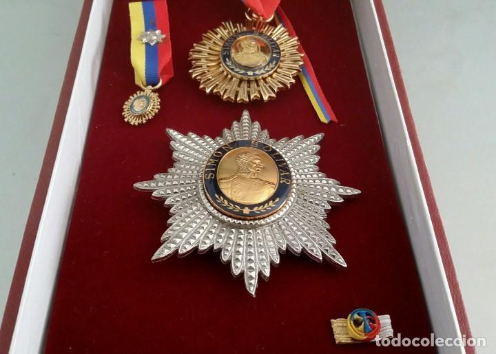Militaria: EXTINTA CONDECORACIÓN 2 a. CLASE ORDEN LIBERTADOR SIMÓN BOLÍVAR. GRAN OFICIAL. DIFÍCIL - Foto 3 - 131624318