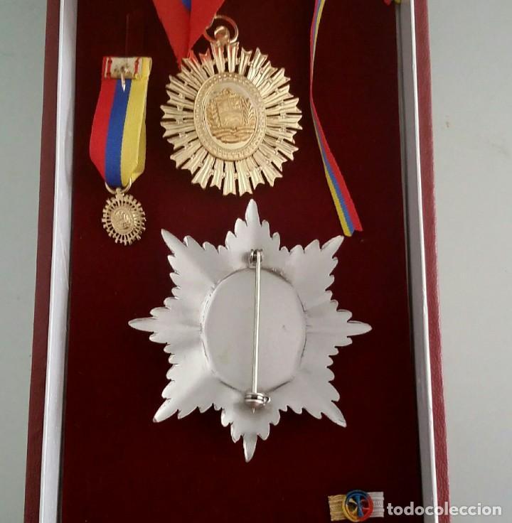 Militaria: EXTINTA CONDECORACIÓN 2 a. CLASE ORDEN LIBERTADOR SIMÓN BOLÍVAR. GRAN OFICIAL. DIFÍCIL - Foto 4 - 131624318