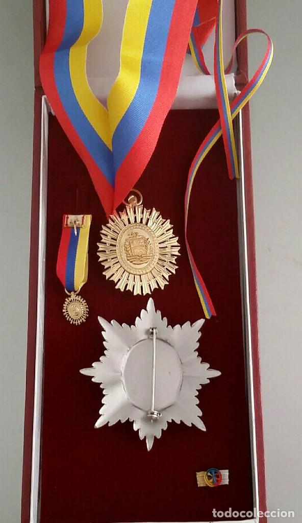 Militaria: EXTINTA CONDECORACIÓN 2 a. CLASE ORDEN LIBERTADOR SIMÓN BOLÍVAR. GRAN OFICIAL. DIFÍCIL - Foto 5 - 131624318