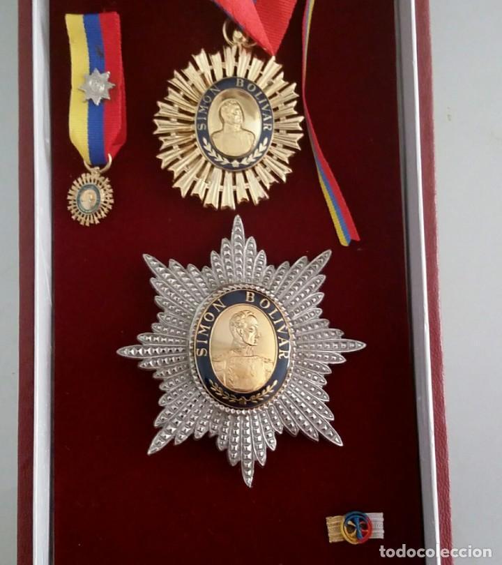 Militaria: EXTINTA CONDECORACIÓN 2 a. CLASE ORDEN LIBERTADOR SIMÓN BOLÍVAR. GRAN OFICIAL. DIFÍCIL - Foto 6 - 131624318