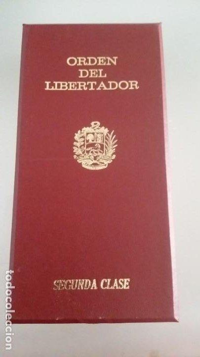 Militaria: EXTINTA CONDECORACIÓN 2 a. CLASE ORDEN LIBERTADOR SIMÓN BOLÍVAR. GRAN OFICIAL. DIFÍCIL - Foto 10 - 131624318