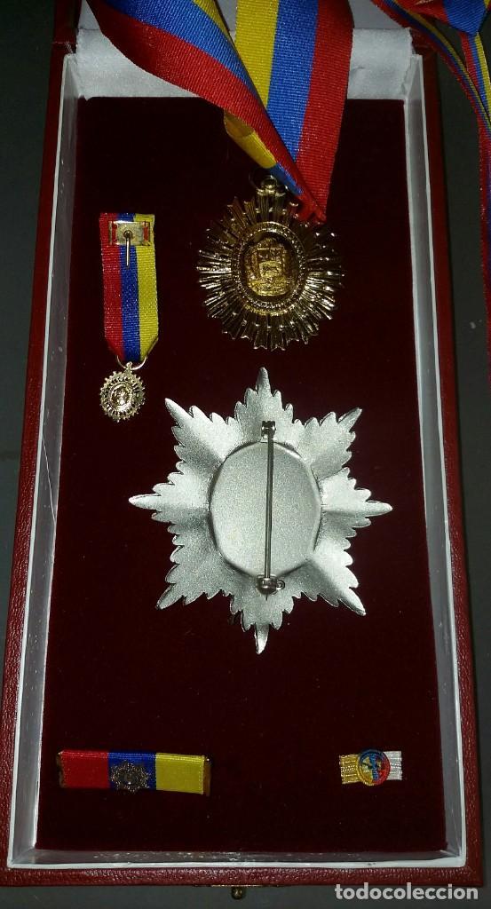 Militaria: EXTINTA CONDECORACIÓN 2 a. CLASE ORDEN LIBERTADOR SIMÓN BOLÍVAR. GRAN OFICIAL. DIFÍCIL - Foto 12 - 131624318
