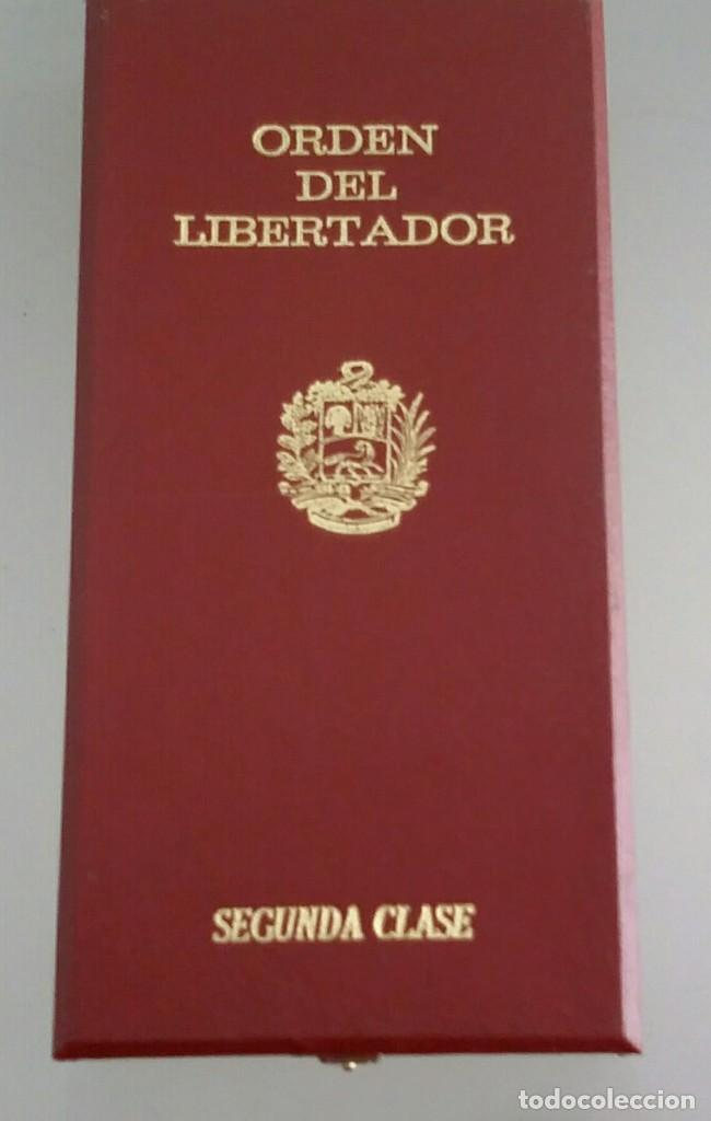 Militaria: EXTINTA CONDECORACIÓN 2 a. CLASE ORDEN LIBERTADOR SIMÓN BOLÍVAR. GRAN OFICIAL. DIFÍCIL - Foto 14 - 131624318