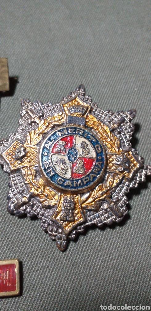 Militaria: Medallas guerra civil .Mérito militar y Cruz de guerra. - Foto 2 - 194240425