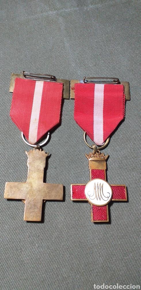 Militaria: Mérito militar rojo. Guerra civil. - Foto 2 - 194242275