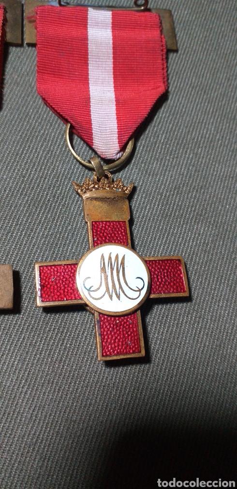 Militaria: Mérito militar rojo. Guerra civil. - Foto 3 - 194242275