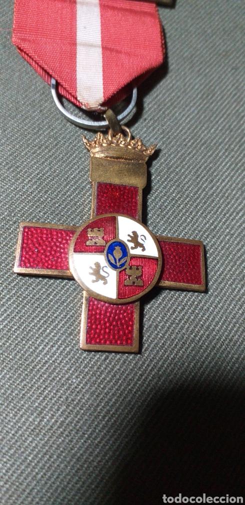 Militaria: Mérito militar rojo. Guerra civil. - Foto 5 - 194242275
