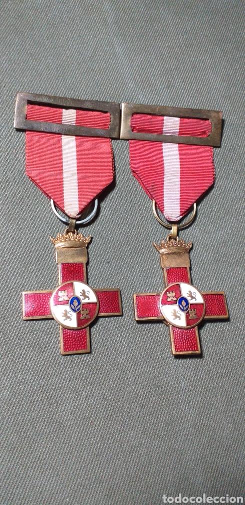 MÉRITO MILITAR ROJO. GUERRA CIVIL. (Militar - Medallas Españolas Originales )