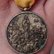 Militaria: MEDALLA AGUINALDO DIVISIÓN AZUL VIRGEN DEL PILAR . Lote 194270168