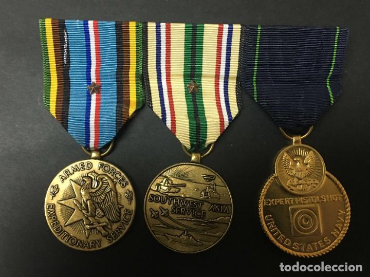 PASADOR US NAVY (Militar - Medallas Extranjeras Originales)