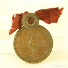 Militaria: CONDECORACION GUERRA CIVIL FIESTA DEL CAMPO LEONES SEPTIMA REGION 1939 3 AÑO DE LA VICTORIA. Lote 194316683