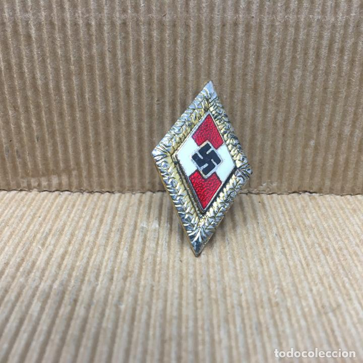 INSIGNIA DE HONOR HJ HITLERJUGEN JUVENTUDES HITLERIANAS NSDAP ALEMANIA PARTIDO NAZI TERCER REICH (Militar - Reproducciones y Réplicas de Medallas )