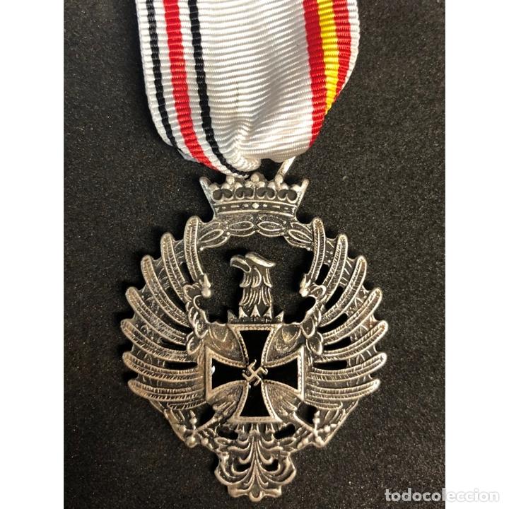 MEDALLA CONMEMORATIVA RUSIA 1941 DIVISION AZUL ALEMANIA NAZI TERCER REICH (Militar - Reproducciones y Réplicas de Medallas )