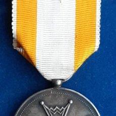 Militaria: MEDALLA DE PLATA DE LA REAL ORDEN DE ISABEL LA CATOLICA - ALFONSO XIII - 1907 A 1931. Lote 194326212