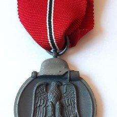 Militaria: MEDALLA CONDECORACION ALEMANA FRENTE DEL ESTE ORIGINAL - OSTMEDAILLE . Lote 194334986