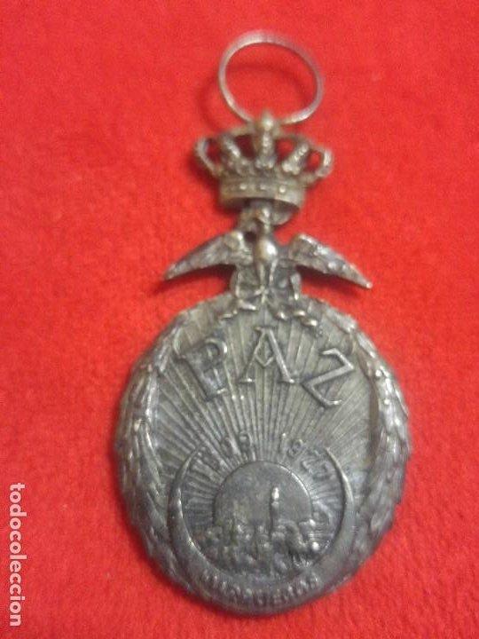 MEDALLA DE LA PAZ DE MARRUECOS 1927 (Militar - Medallas Españolas Originales )