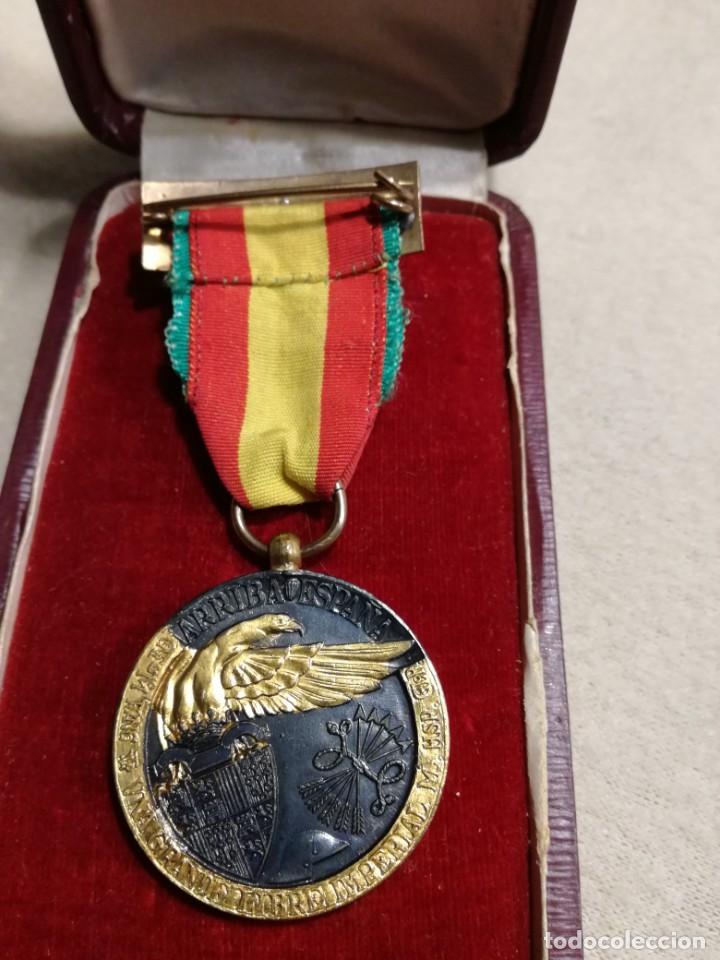 Militaria: Medalla de la campaña 1936-39. Guerra Civil española, Legión Cóndor - Foto 2 - 194381731
