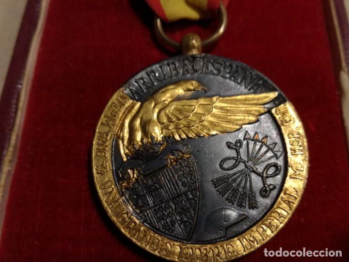 Militaria: Medalla de la campaña 1936-39. Guerra Civil española, Legión Cóndor - Foto 3 - 194381731