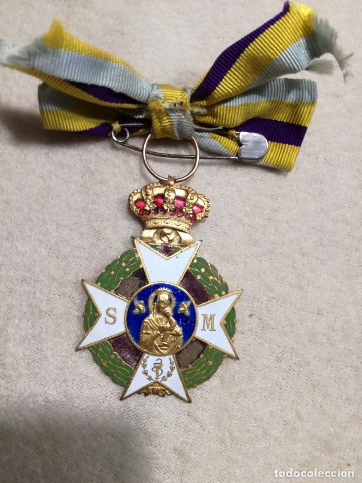 Militaria: Medalla Asociación de Señoras de Sanidad Militar 1930-40 - Foto 2 - 194382792