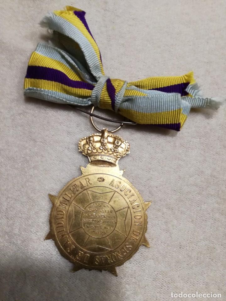 Militaria: Medalla Asociación de Señoras de Sanidad Militar 1930-40 - Foto 3 - 194382792