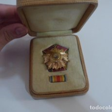 Militaria: ANTIGUA MEDALLA ORDEN 23 AGOSTO V CLASE, RUMANIA COMUNISTA. ORIGINAL. EN SU CAJA.. Lote 194498530