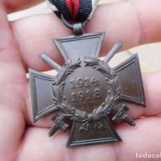 Militaria: MEDALLA ALEMANA CRUZ DE HINDENBURG 1914 1918. Lote 194507577