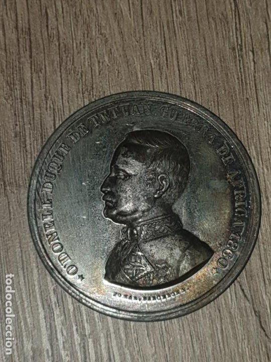 Militaria: Medalla guerra de africa 1860 odonell duque tetuan - Foto 4 - 194509346