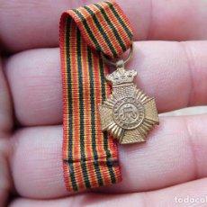 Militaria: MEDALLA BELGA MINIATURA BELGICA. Lote 194510922