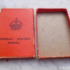 Militaria: MEDALLA PARA MEDALLA INGLESA IMPERIAL SERVICE MEDAL. Lote 194511315