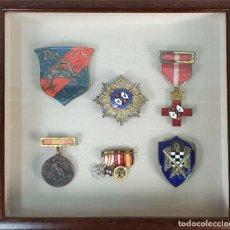 Militaria: COLECCIÓN DE 8 CONDECORACIONES MILITARES. GUERRA CIVIL ESPAÑOLA. CIRCA 1940. . Lote 194550360