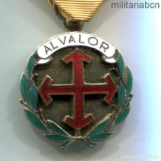 Militaria: MEDALLA AL VALOR DEL FRENTE DE JUVENTUDES. 2º MODELO. PLATA. CON MARCAJES DE PLATA.. Lote 194612717