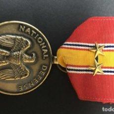 Militaria: USA DEFENSA NACIONAL 2 ESTRELLAS. Lote 194616077