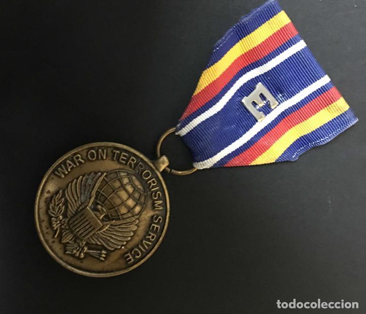 SERVICIO GUERRA CONTRA EL TERRORISMO E (Militar - Medallas Extranjeras Originales)