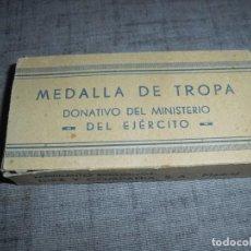 Militaria: CAJA MEDALLA DIVISION AZUL. Lote 194657580
