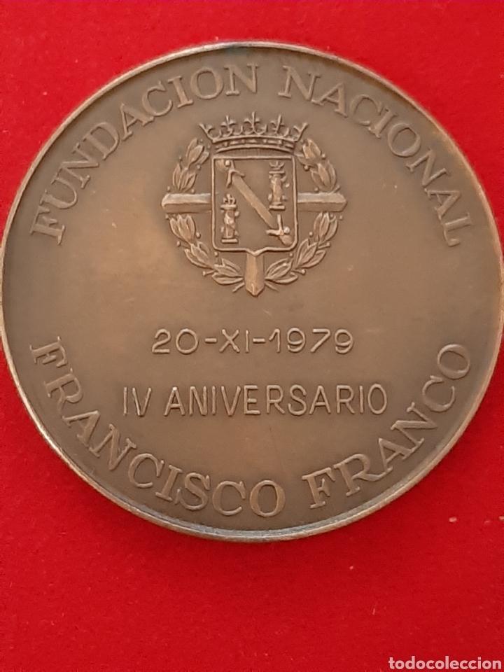 MEDALLON FUNDACION FRANCISCO FRANCO (Militar - Reproducciones y Réplicas de Medallas )