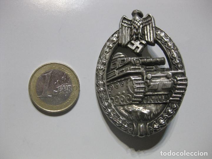 INSIGNIA EMBLEMA PLACA DE ASALTO PANZER. PANZERKAMPFAZBEICHEN BADGE TERCER REICH MEDALLA NAZI WWII (Militar - Reproducciones y Réplicas de Medallas )