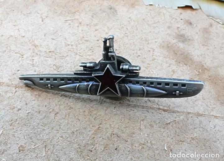 INSIGNIA DE COMANDANTE SUBMARINO.SOVIETICA URSS (Militar - Reproducciones y Réplicas de Medallas )