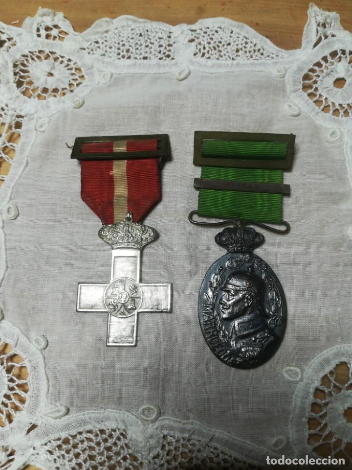 GUERRA DE MARRUECOS MEDALLA INSIGNIA (Militar - Medallas Extranjeras Originales)
