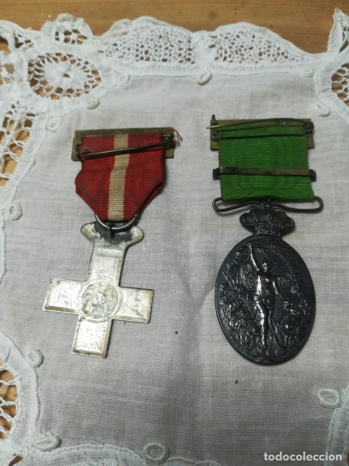 Militaria: Guerra de marruecos medalla insignia - Foto 2 - 194891268