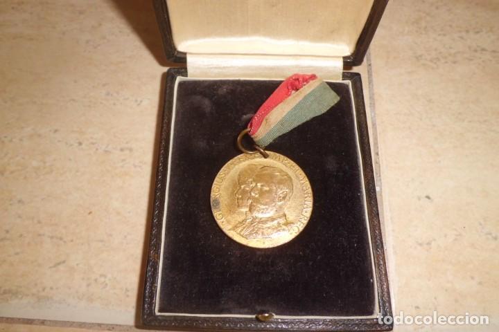 MEDALLA CONMEMORACION DE CORONACION DE GEORGE V, AÑO 1.911 (Militar - Medallas Extranjeras Originales)
