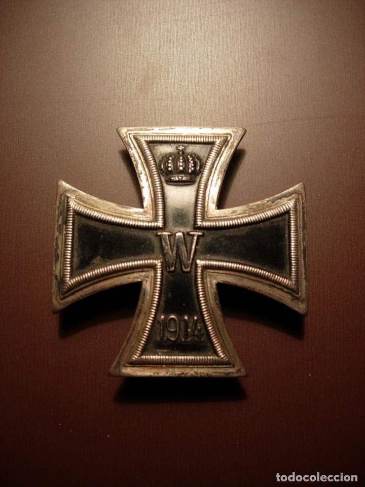 CRUZ DE HIERRO ALEMANA, 1ª CLASE 1ª GUERRA MUNDIAL (Militar - Medallas Extranjeras Originales)