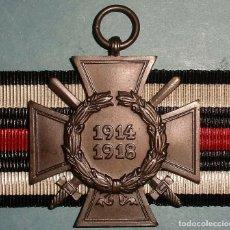 Militaria: MEDALLA CRUZ DE HONOR PARA COMBATIENTES. 1914-1918. I GUERRA MUNDIAL. ALEMANIA. Lote 194912461