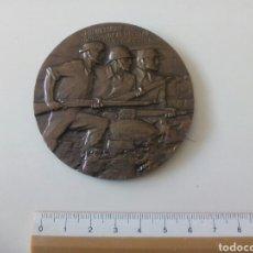 Militaria: MEDALLÓN REPUBLICANO VOLUNTARIOS INTERNACIONALES DE LA LIBERTAD. 1936 1937. Lote 194995180